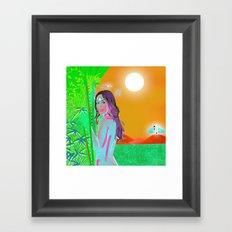 EvA חַוָּה (hav.váh) Framed Art Print
