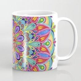 Exotic Bloom Mandala Coffee Mug
