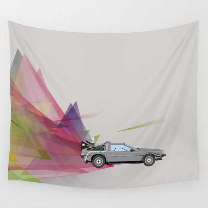 Back to the Future Wall Tapestry