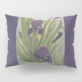 Winter Iris Pillow Sham