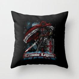 Crusade Legend Throw Pillow