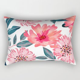 Yours Florally Rectangular Pillow