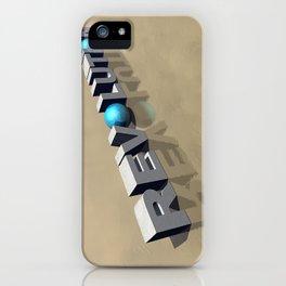 Revolution in 3D iPhone Case