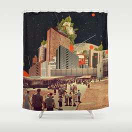 Software Road Shower Curtain