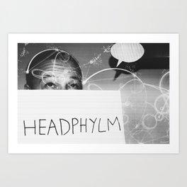 HEADPHYLM Art Print
