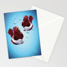 The Fighters - Daniela Mela Stationery Cards