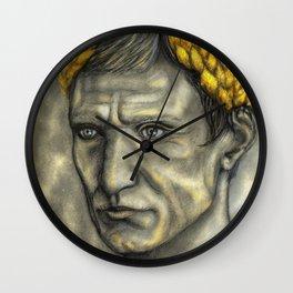 Golden Gaius Wall Clock