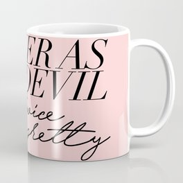 clever as the devil Coffee Mug