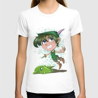 peter pan T-shirts featuring Peter Pan by EY Cartoons