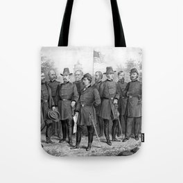 Union Generals of The Civil War Tote Bag