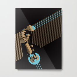 The Engineer Metal Print