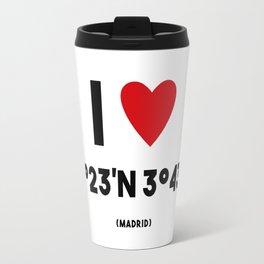 I LOVE MADRID Travel Mug