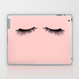 pink eyelashes Laptop & iPad Skin