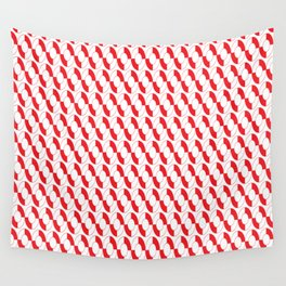 Nautical Liferings Wall Tapestry