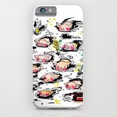 Swimming pigs Slim Case iPhone 6s