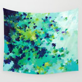 Aquamarine Addiction Wall Tapestry