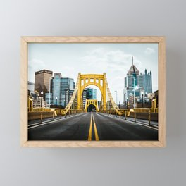 Pittsburgh Skyline Framed Mini Art Print