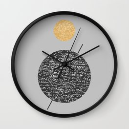 Saturn Abstract #society6 #decor #buyart Wall Clock