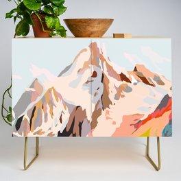 glass mountains Credenza