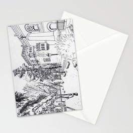 Spanish Palace (line) Stationery Cards