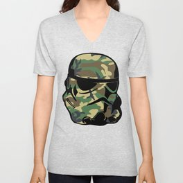 Camo Trooper Unisex V-Neck