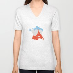 Paris - France Unisex V-Neck
