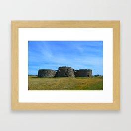 Camber Castle Framed Art Print