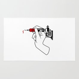 Tatt Gun Rug