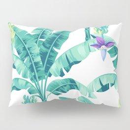 Banana leaf bloom Pillow Sham