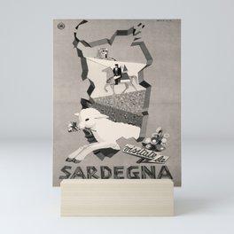 ENIT Sardegna Affiche Mini Art Print