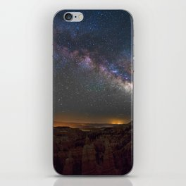 Fairyland Canyon Starry Night Photography iPhone Skin