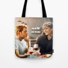 family lunch Tote Bag