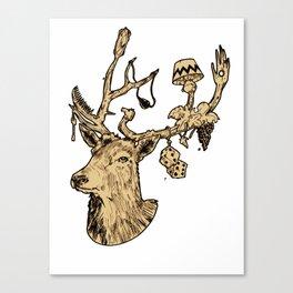 Dear Deer Canvas Print