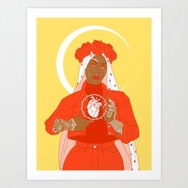 patron saint Art Print