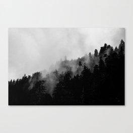 Eagle Creek Fog Canvas Print