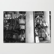Bag Stall, Covent Garden Market, London Canvas Print