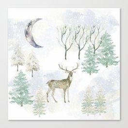 Winter Landscape Canvas Print