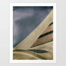 Montreal stadium Art Print