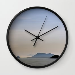 Isla Negra Wall Clock