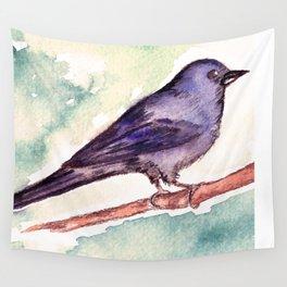 Pinzon azul Wall Tapestry
