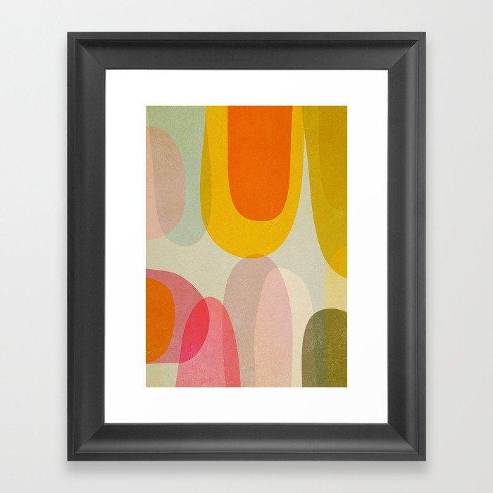 Abstract12 Gerahmter Kunstdruck