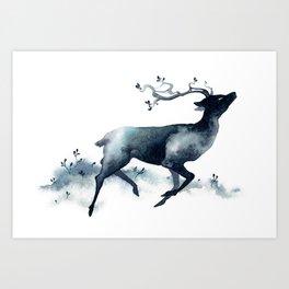 Plains Spirit Art Print