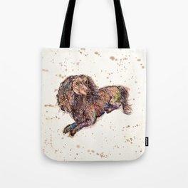 Dachshund Dog Tote Bag