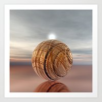 copper Art Prints featuring COPPER by INA FineArt