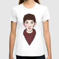 merlin T-shirts featuring Merlin by Emma Ehrling