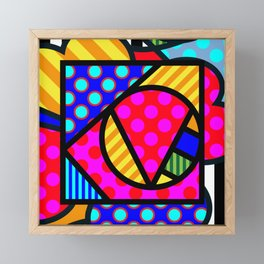 Lucky Love SQuare Framed Mini Art Print