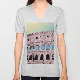 The Colosseum I Unisex V-Neck