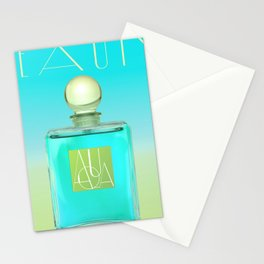 Scented Colors Aqua Stationery Cards
