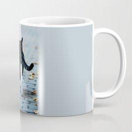catwalk through the city streets Coffee Mug