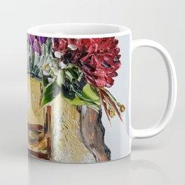 vintage bowling bag of flowers Coffee Mug